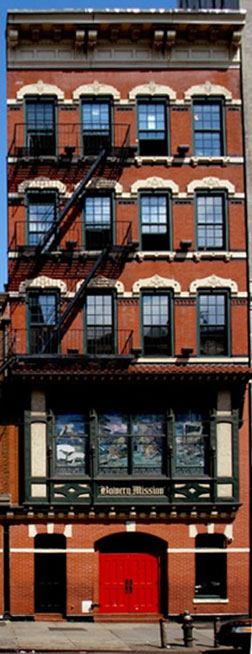 Landmarked Buildings on the Bowery