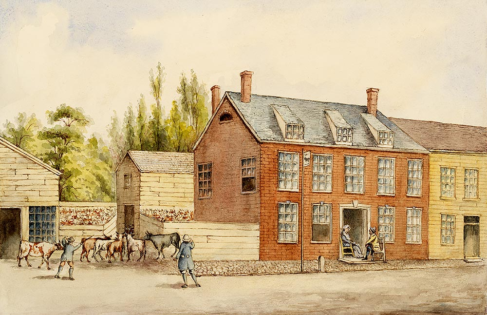 Old Bullshead Tavern 1762