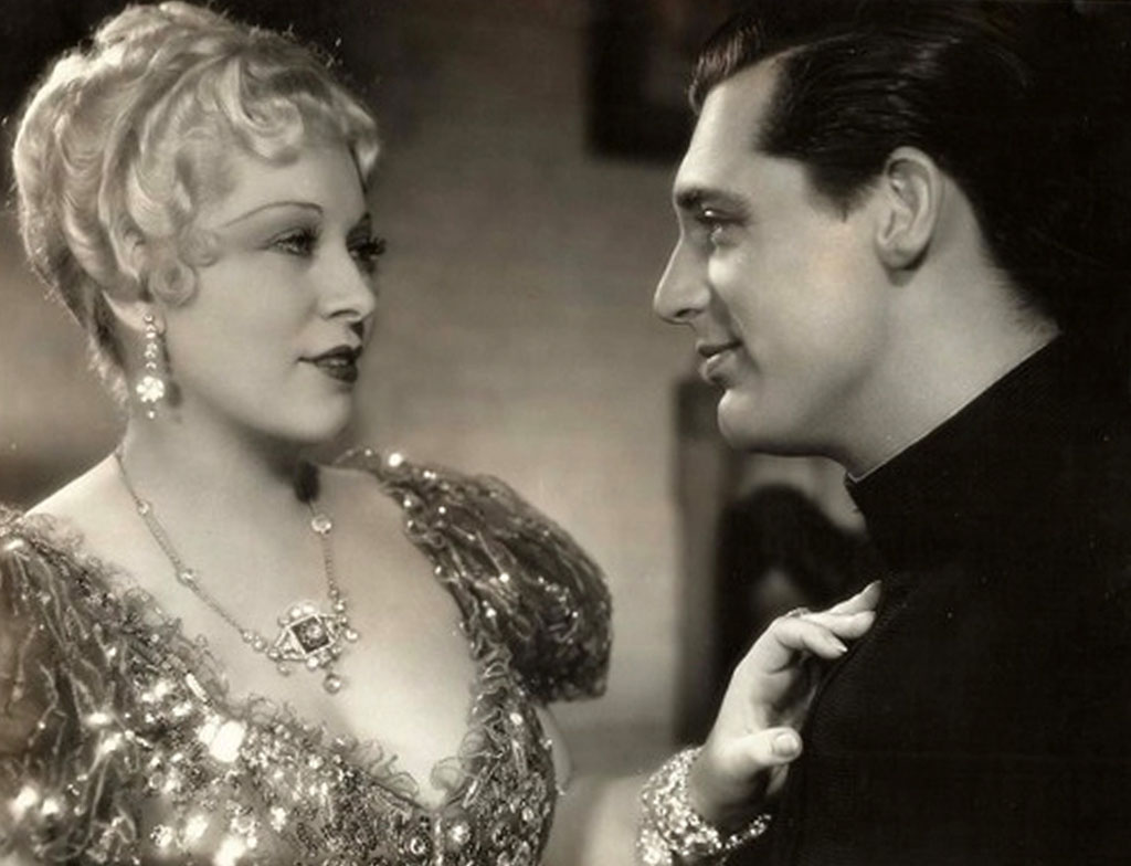 Mae West and Cary Grant in She Done Him Wrong