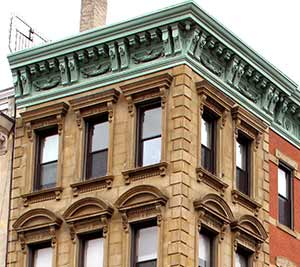 Italian Renaissance bank building, 215 Bowery (1872) photo by D. Mulkins