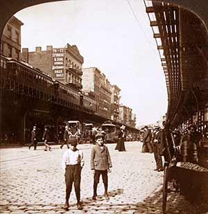 The Bowery was a 19th century stomping ground for the working class, the Bowery Boys gang, gay New Yorkers and waves of Irish, Italian, Chinese, German and Jewish immigrants.