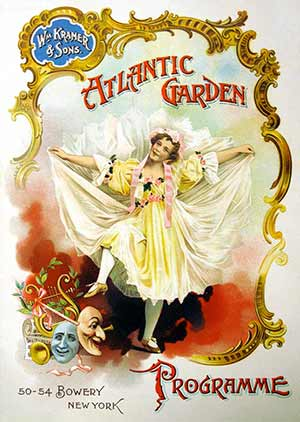Atlantic Garden Programme Cover