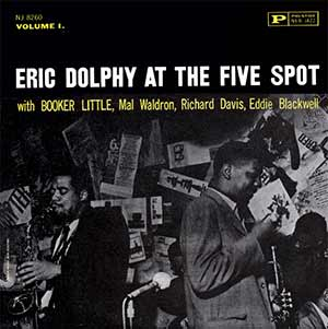 A classic jazz album (LP) recorded at the Five Spot